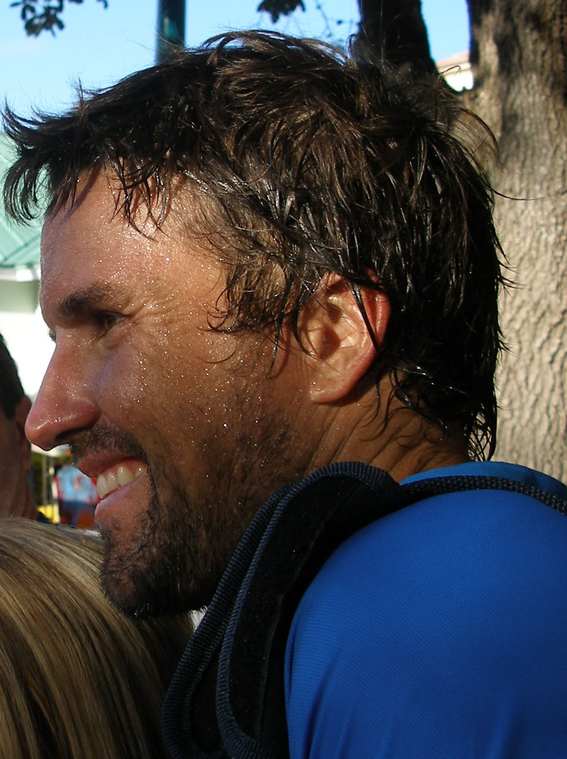 Post Tour Patrick Rafter s Life Is Like Groundhog Day · Tennis